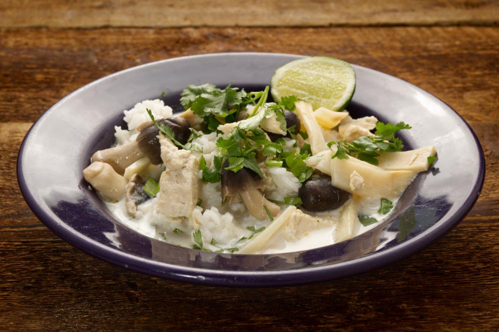 Tom Kha Gai bowl
